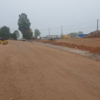 Absteckarbeiten Fahrbahn / Fußweg