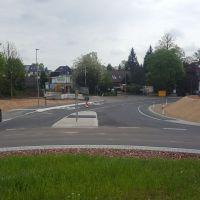 Kurz vor Eröffnung - Richtung Zwickauer Straße
