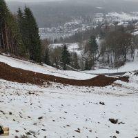 Verschneite Halde 54 in Johanngeorgenstadt